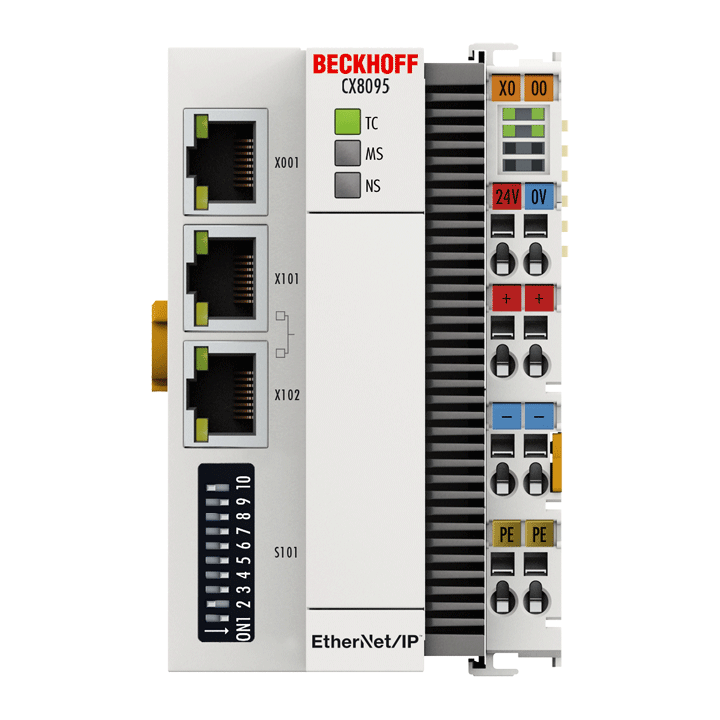 CX8095 | Embedded PC with EtherNet/IP adapter