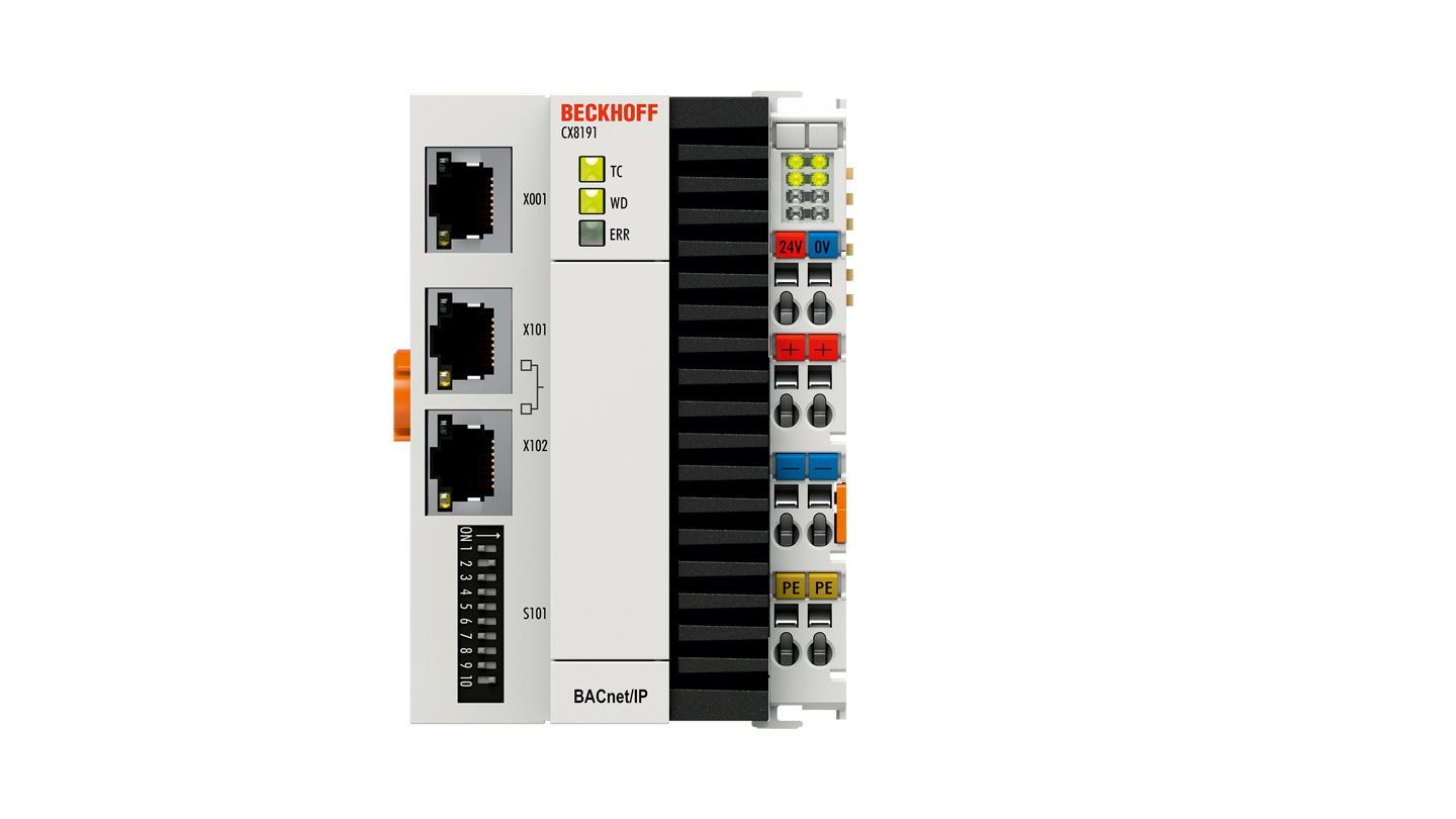 CX8191 | Embedded PC with BACnet/IP