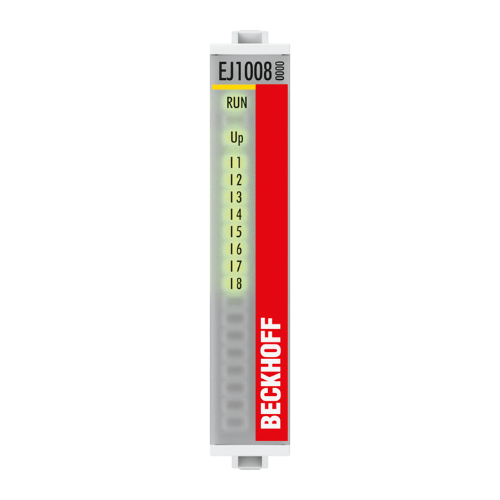 EJ1008 | 8-channel digital input 24VDC, 3ms