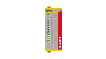 EJ1914 | 4-channel digital input, 24VDC, TwinSAFE Logic