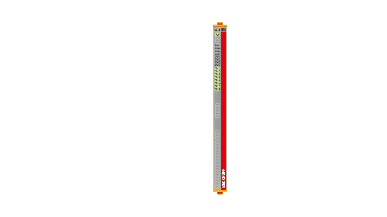 EJ1918 | EtherCAT plug-in module, 8-channel digital input, 24VDC, TwinSAFE, TwinSAFE Logic