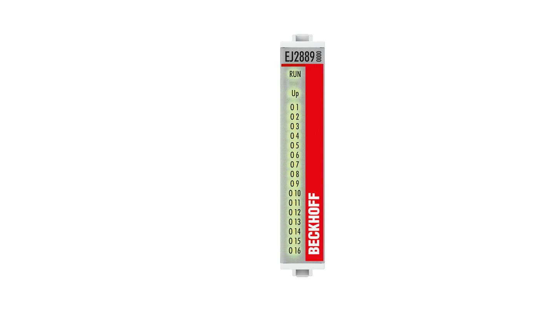 EJ2889 | 16-Kanal-Digital-Ausgang 24VDC, 0,5A, masseschaltend