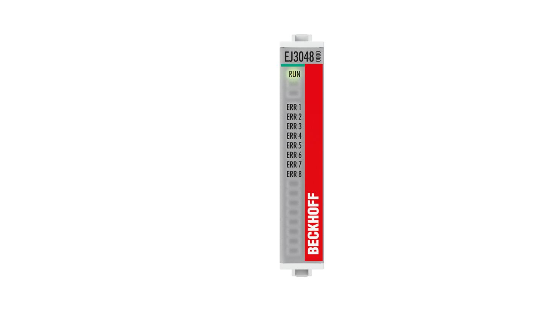 EJ3048 | 8-Kanal-Analog-Eingang 0…20mA, single-ended, 12Bit