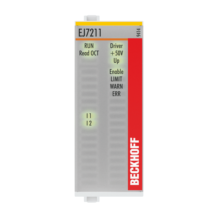 EJ7211-9414 | EtherCAT plug-in module, 1-channel motion interface, servo motor, 48VDC, 4.5A, OCT, suitable for STO applications, TwinSAFESC