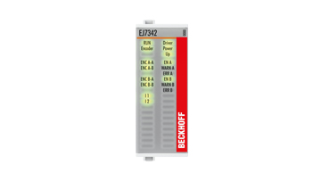 EJ7342 | 2-Kanal-DC-Motormodul, 48VDC, 3,5A