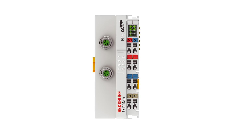 EK1100-0008 | EtherCAT Coupler with M8 connection