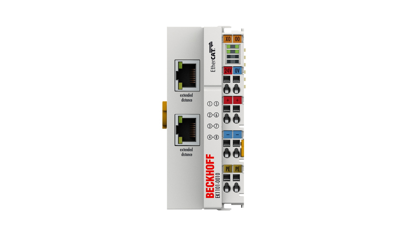 EK1101-0010 | EtherCAT Coupler with ID switch, Extended Distance