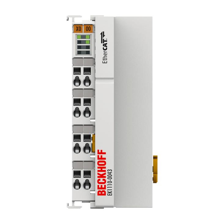 EK1110-0043 | EtherCAT EJ coupler, CX and EL terminal connection