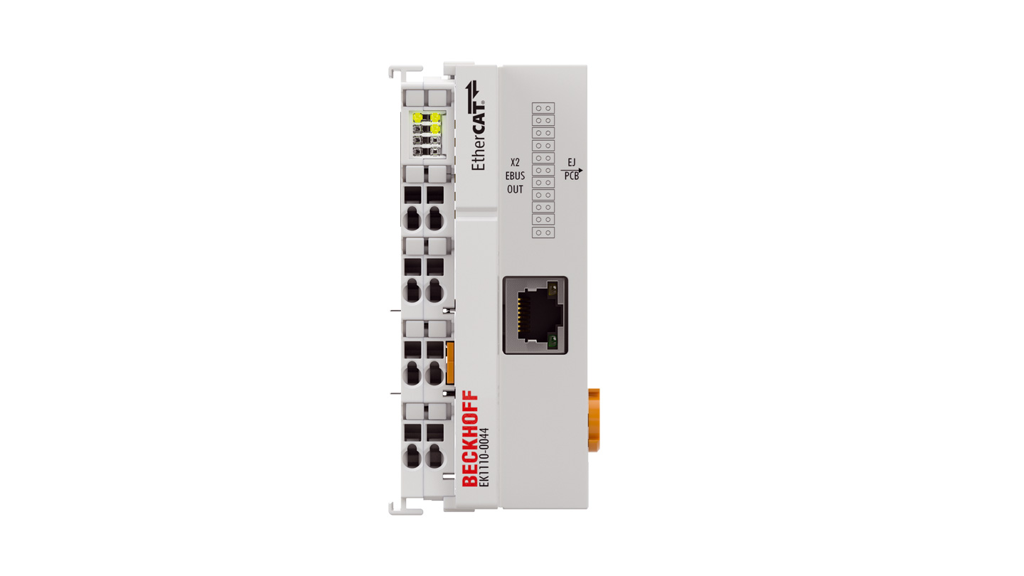 EK1110-0044 | EtherCAT EJ coupler, CX and EL terminal connection, EtherCAT junction