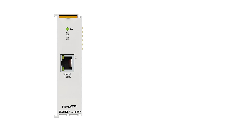 EK1121-0010 | 1-port EtherCAT junction, Extended Distance