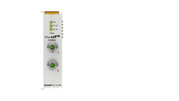 EK1122-0008 | 2-port EtherCAT junction with M8 connection