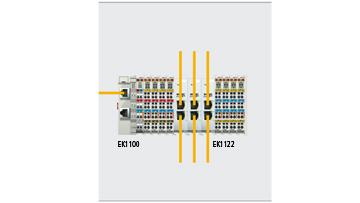 EK1122 | 2-port EtherCAT junction