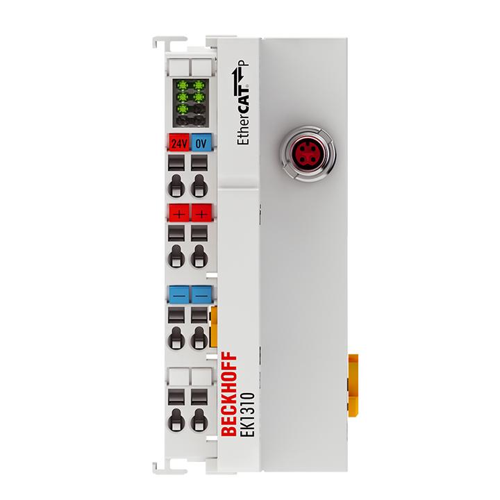 EK1310 | 1-Port-EtherCAT-P-Verlängerung mit Einspeisung