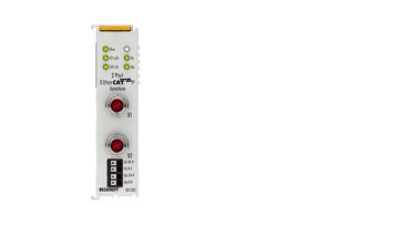 EK1322 | 2-Port-EtherCAT-P-Abzweig mit Einspeisung