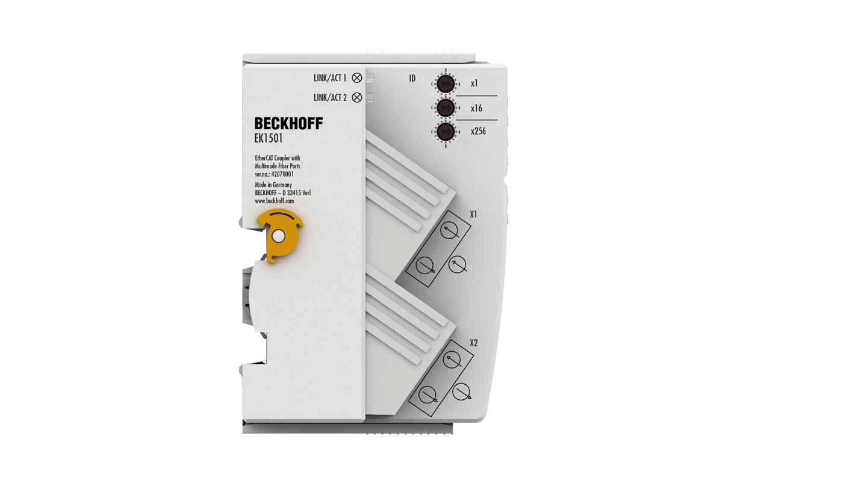EK1501 | EtherCAT Coupler with ID switch, multimode fibre optic