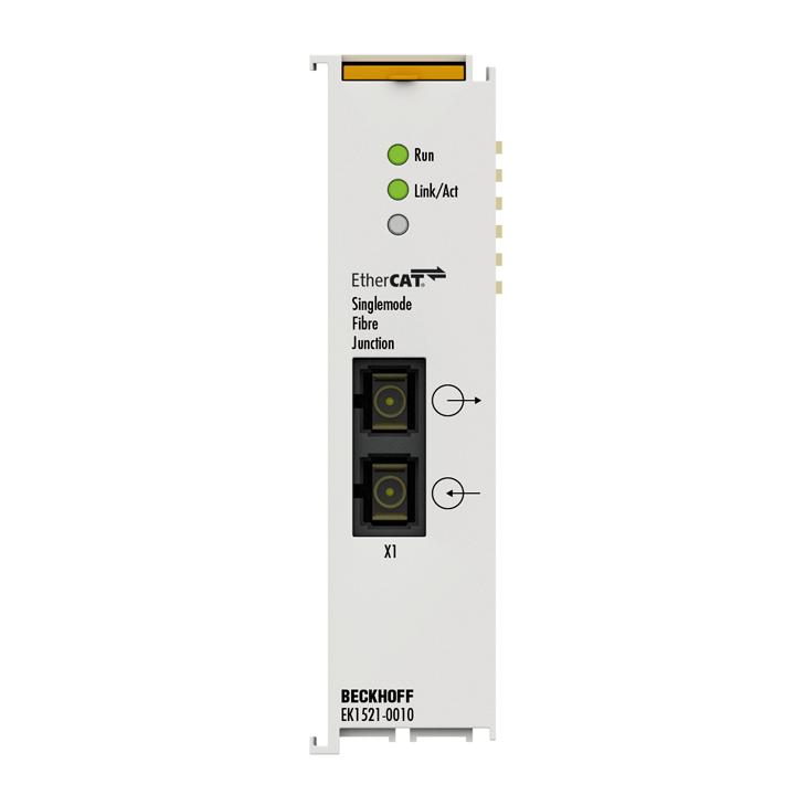 EK1521-0010 | 1-port EtherCAT fibre optic junction