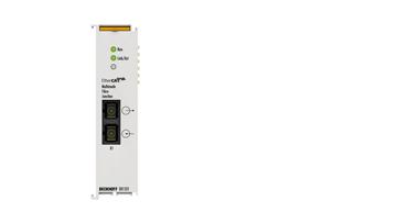EK1521   1-port EtherCAT fibre optic junction