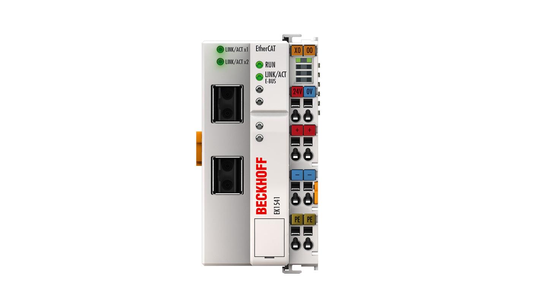 EK1541 | EtherCAT Coupler with ID switch, plastic optical fibre