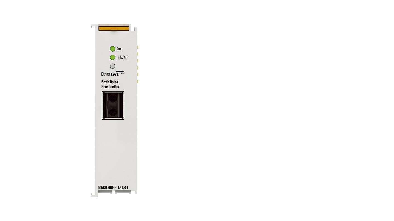 EK1561 | 1-port EtherCAT plastic optical fibre junction