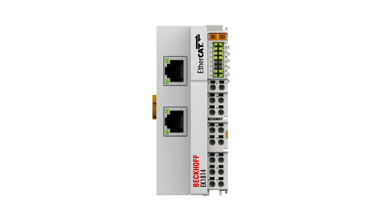 EK1814 | EtherCAT Coupler with integrated digital inputs/outputs