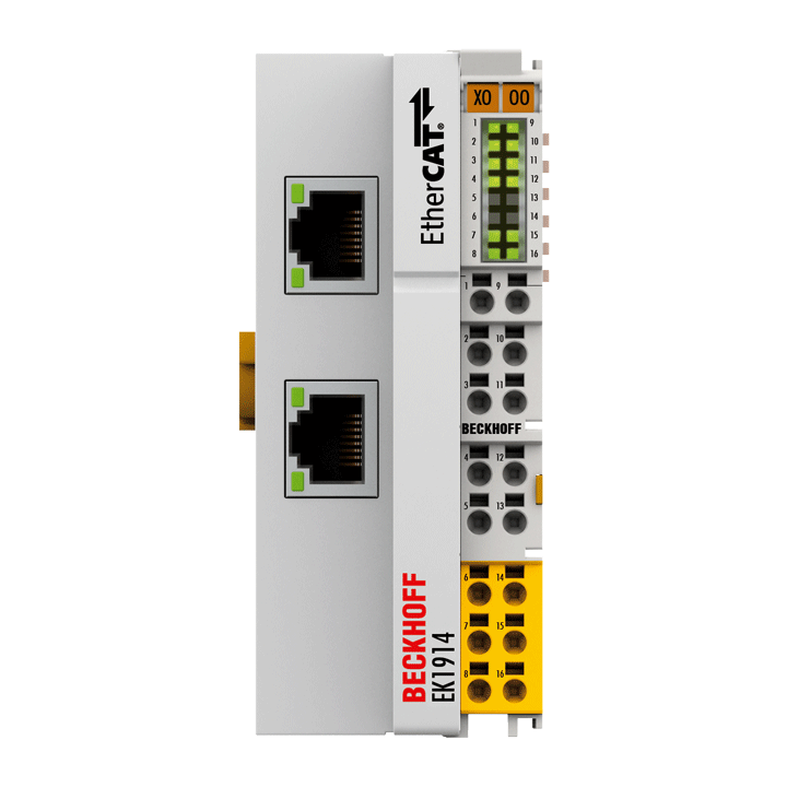 EK1914 | EtherCAT Coupler with integrated digital standard and safety I/Os