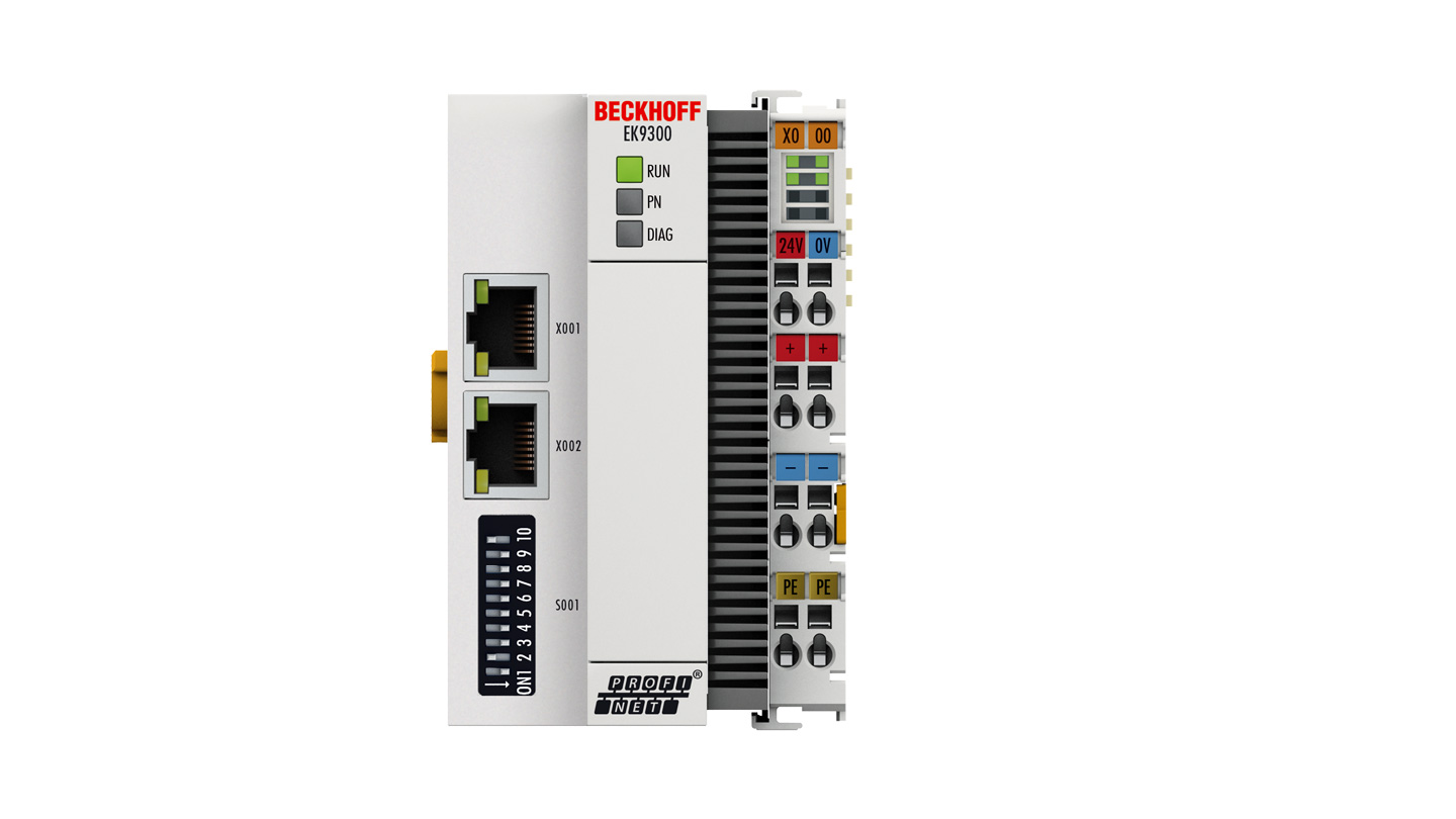 EK9300 | PROFINET RT Bus Coupler