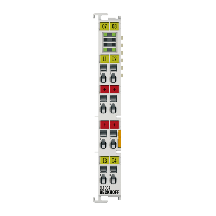 EL1004 | 4-channel digital input terminal 24VDC, 3ms