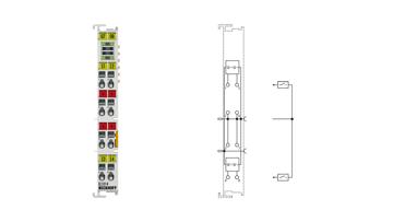 EL1014 | 4-channel digital input terminal 24VDC, 10µs
