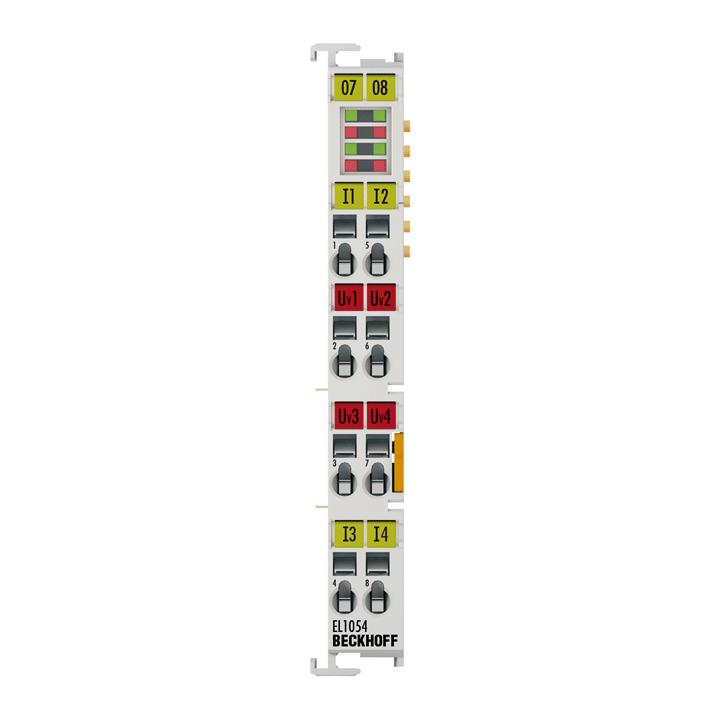 EL1054 | EtherCAT Terminal, 4-channel digital input, NAMUR