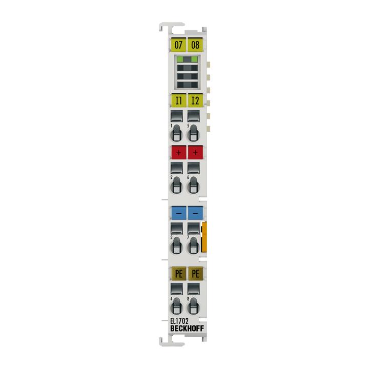 EL1702 | EtherCAT Terminal, 2-channel digital input, 120…230VAC, 10ms