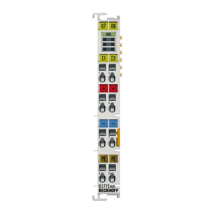 EL1712-0020   2-Kanal-Digital-Eingangsklemme 120VDC
