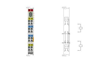 EL2024-0010 | EtherCAT Terminal, 4-channel digital output, 12VDC, 2A