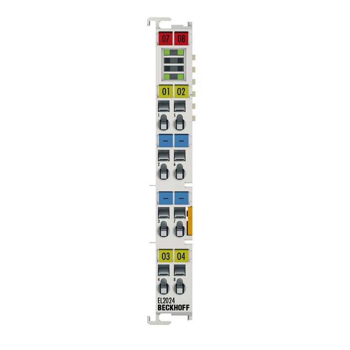 EL2024 | 4-channel digital output terminal 24VDC, 2A