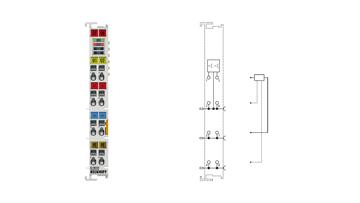 EL2032 | 2-channel digital output terminal 24VDC, 2A