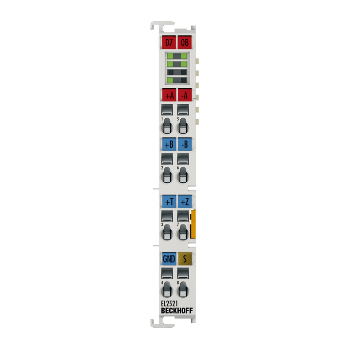 EL2521 | 1-Kanal-Pulse-Train-Ausgangsklemme RS422/24VDC