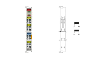 EL2535-0005 | EtherCAT Terminal, 2-channel PWM output, 24VDC, 5A, current-controlled