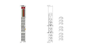 EL2808 | HD-EtherCAT-Klemme, 8-Kanal-Digital-Ausgang 24VDC, 0,5A