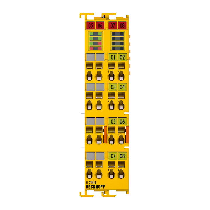 EL2904 | 4-Kanal-Digital-Ausgangsklemme, TwinSAFE, 24VDC