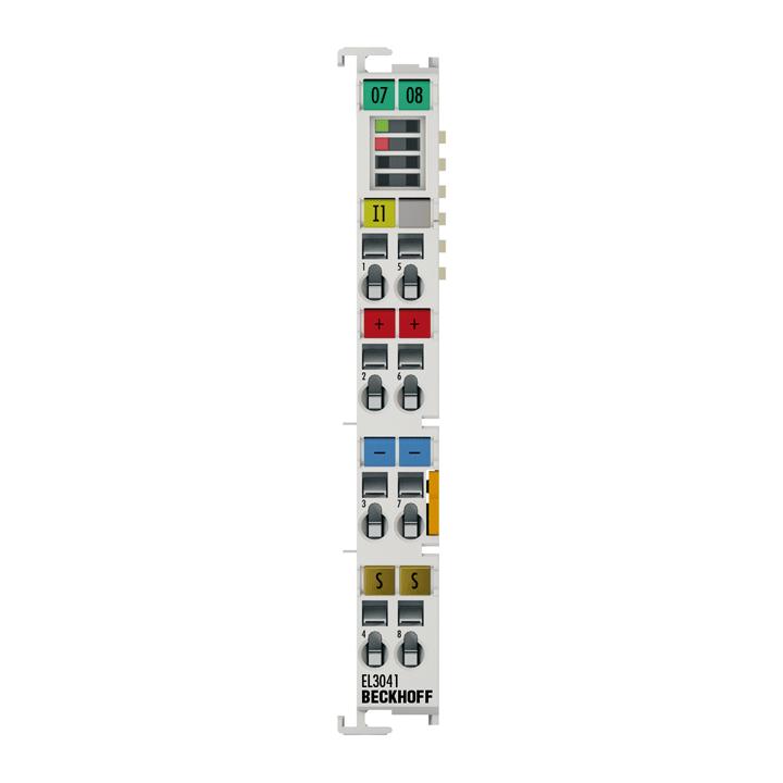 EL3041   1-Kanal-Analog-Eingangsklemme 0…20mA, single-ended, 12Bit