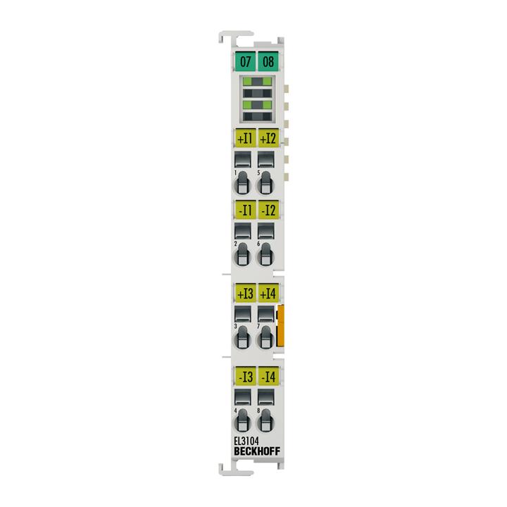 EL3104 | 4-channel analog input terminal -10…+10V