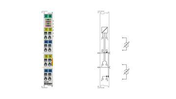 EL3144   4-Kanal-Analog-Eingangsklemme 0…20mA, single-ended, 16Bit