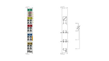 EL3182 | 2-Kanal-Analog-Eingangsklemme 4…20mA, single-ended, 16Bit, HART