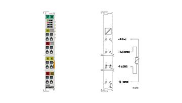 EL3201 | EtherCAT Terminal, 1-channel analog input, temperature, RTD (Pt100), 16bit