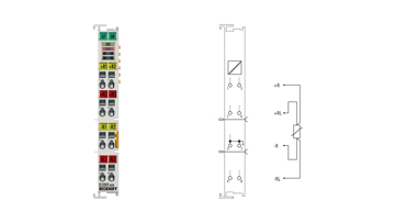 EL3202-0030 | 2-channel input terminals Pt100 (RTD) for 4-wire connection, high-precision, with external calibration certificate