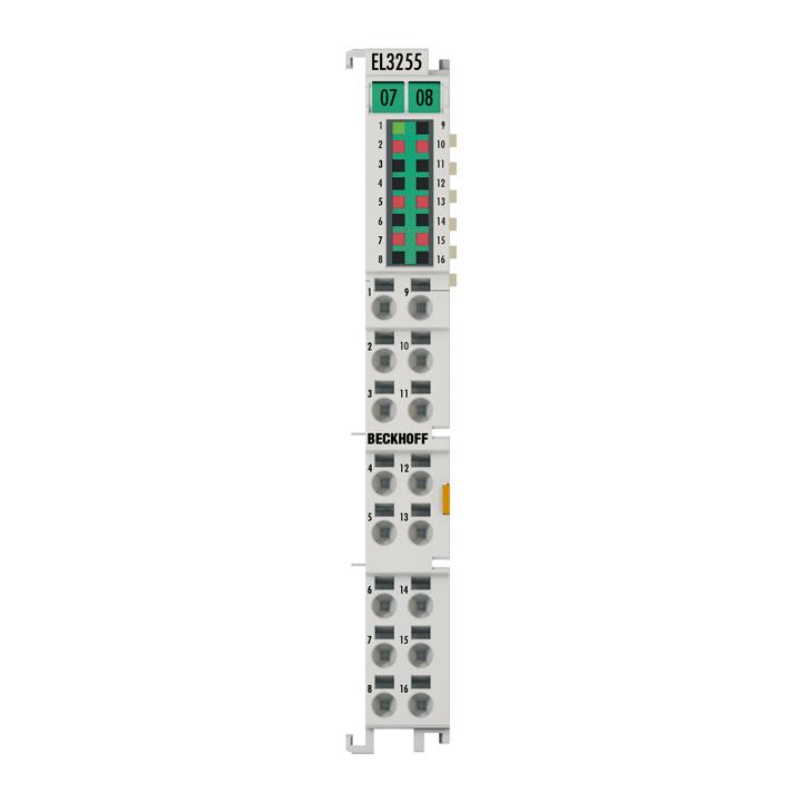 EL3255 | EtherCAT Terminal, 5-channel analog input, potentiometer, 300Ω…50kΩ, 16bit