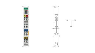 EL3311   EtherCAT Terminal, 1-channel analog input, temperature, thermocouple, 16bit