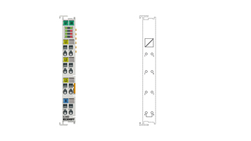 EL3483 | 3-phase mains monitoring terminal for voltage, frequency and phase