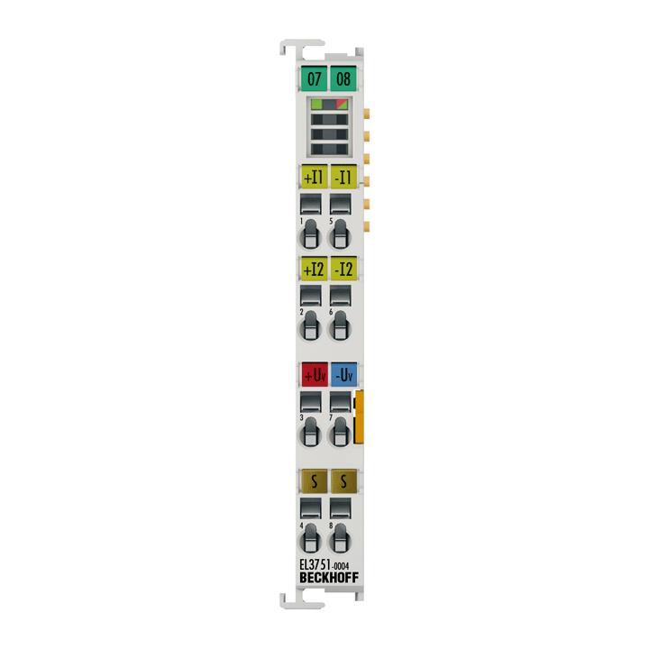 EL3751-0004 | 1-channel R/RTD input for analog measurement technology, 24bit, 10ksps