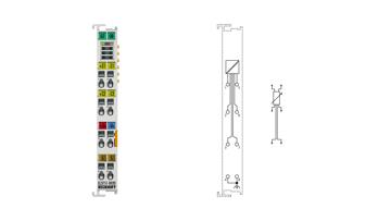 EL3751-0024 | 1-Kanal-R/RTD-Eingang für analoge Messtechnik, 24Bit, 10kSps, mit Kalibrierzertifikat