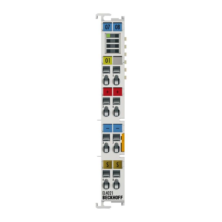 EL4021 | EtherCAT Terminal, 1-channel analog output, current, 4…20mA, 12bit